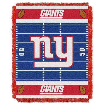 New York Giants Baby Jacquard Field Throw