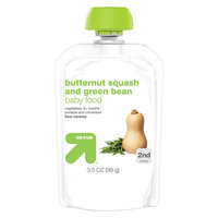 Nurture, Inc. up & up Butternut Squash and Green Bean Baby Food 3.5 oz