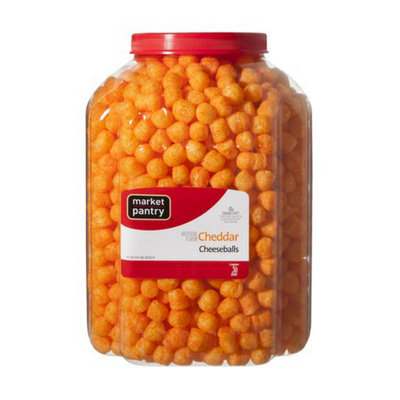 Market Pantry Cheddar Cheese Balls - 22 oz.