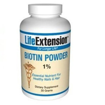 Life Extension Biotin - 30g - Powder