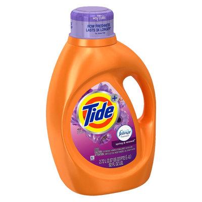 Tide Plus Febreze Spring & Renewal Liquid Laundry Detergent - 92 oz