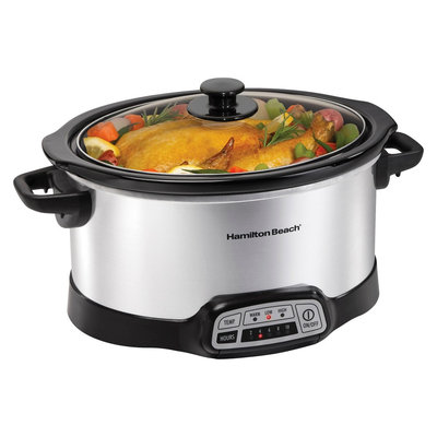 Hamilton Beach 6 Qt. Programmable Slow Cooker- 33463