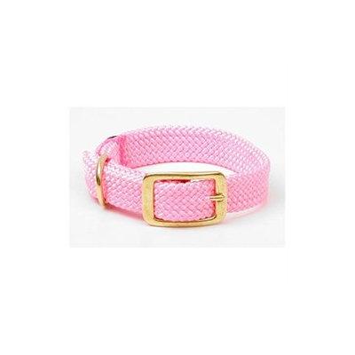 Mendota Double Braid Collar in Hot Pink