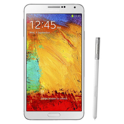 Samsung Galaxy Note III N9000 Unlocked Cell Phone, brightspot