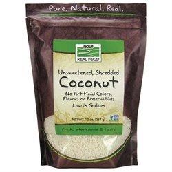 NOW Foods - Coconut Medium Unsweetened - 10 oz.