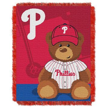 Philadelphia Phillies Baby Jacquard Throw Field