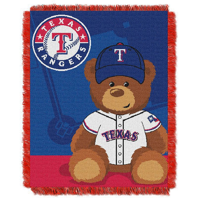 Texas Rangers Baby Jacquard Throw Field