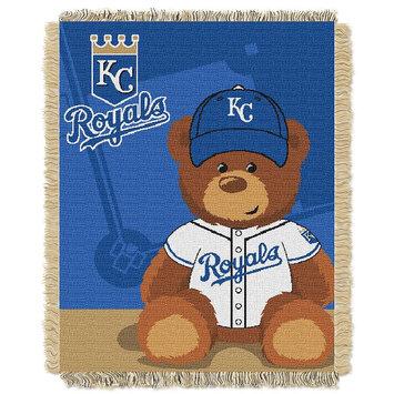 Kansas City Royals Baby Jacquard Throw Field