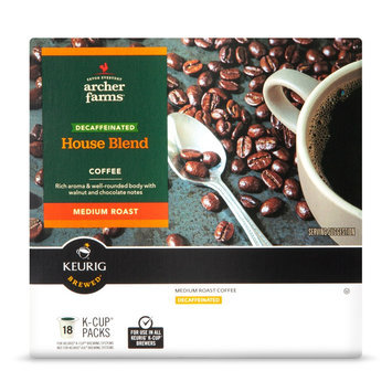 Archer Farms Decaf House Blend Coffee K-Cup Packs 18 ct