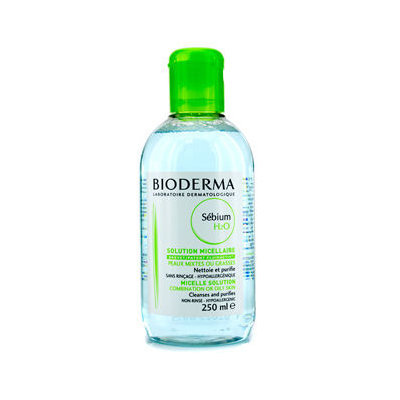 Bioderma Sebium H2O Purifying Cleansing Solution (For Combination/Oily Skin) 250ml/8.4oz