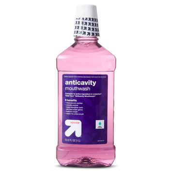 up & up Anticavity Fluoride Mouth Rinse - Eucalyptus Mint - 1 L