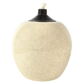 Lamplight Outdoor Candle TIKI Ceramic