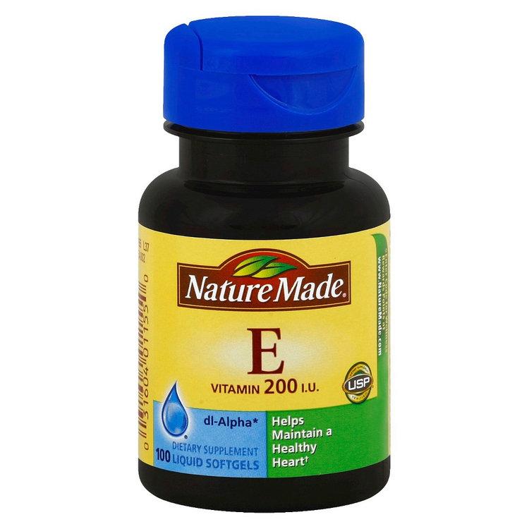 Nature Made Vitamin E 200 IU Softgels