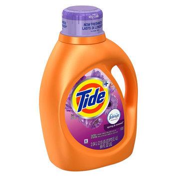 Procter & Gamble Tide Febreze Spring & Renewal Scent Liquid Laundry Detergent 69 oz