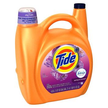 Procter & Gamble Tide Plus Febreze Sport Active Fresh Liquid Laundry Detergent - 138 oz, Febreze Spring