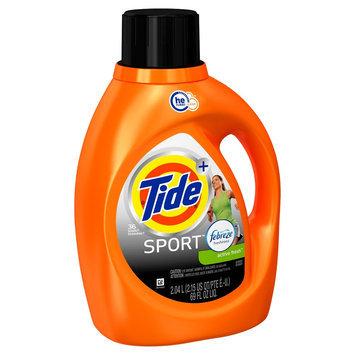 Procter & Gamble Tide Sport Febreze Active Fresh Scent HE Liquid Laundry Detergent 69 oz