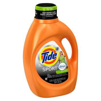 Procter & Gamble Tide Plus Febreze Sport Active Fresh Liquid Laundry Detergent - 92 oz, Febreze Sport Active Fresh High Efficiency