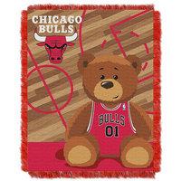 Chicago Bulls Baby Jacquard Throw (Bul Team)