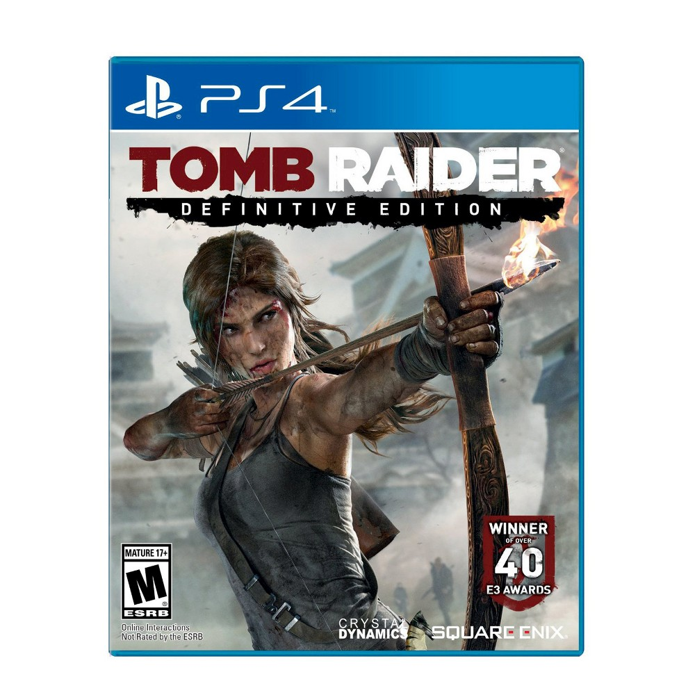 Sqe Tomb Raider: Definitive Edition for Sony PS4