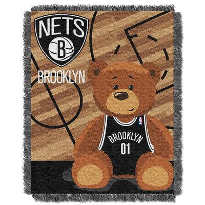 Brooklyn Nets Baby Jacquard Throw (Net Team)