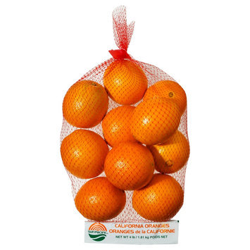 Various Multiple Publishers / Developers Fresh Navel Oranges 4 lb bag