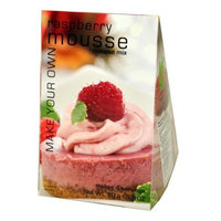 Foxy Gourmet Raspberry Mousse Mix, 3.2-Ounce Boxes (Pack of 3)