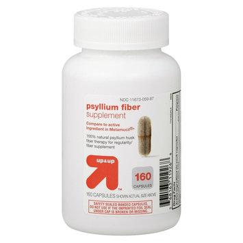 up & up Psyllium Fiber Supplement Capsules - 160 Count