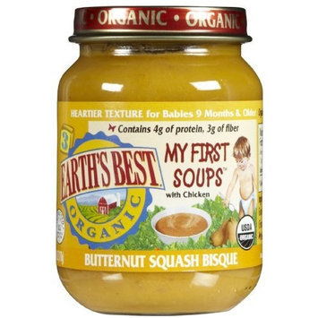 Earth's Best Earths Best 3rd Stage Organic Junior Butternut Squash Bisque Soup, 6 Ounce -- 12 per case.