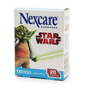 Nexcare Tattoo Waterproof Bandages