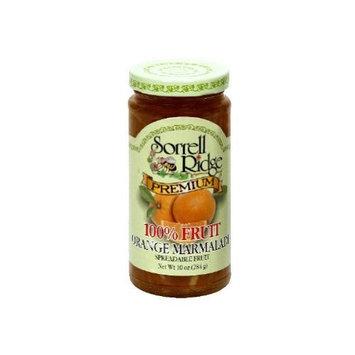 Sorrell Ridge 100 Percent Orange Marmalade Fruit Spreadable Fruit, 10 Ounce -- 12 per case.
