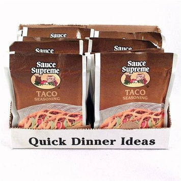 Sauce Supreme Taco Seasoning Mix Case Pack 24