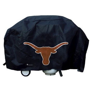 Caseys Distributing 9474640639 Texas Longhorns Grill Cover Deluxe
