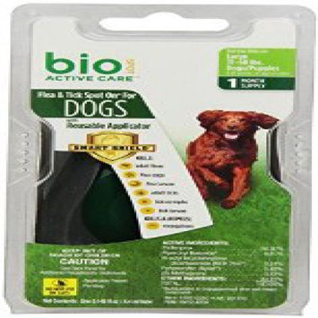 Bio Spot Active Care Flea & Tick Spot On With Applicator for Large Dogs (31-60 lbs.) 1 Month Supply FN100512293