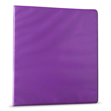Yoobi 1 inch Binders w/ EZD - Purple