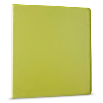 Yoobi 1 inch Binders w/ one touch D ring - Green