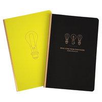 Compendium 2pk Light Bulb Soft Cover Journal