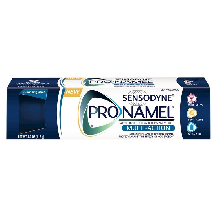 Sensodyne Pronamel Multiaction Toothpaste - 4oz