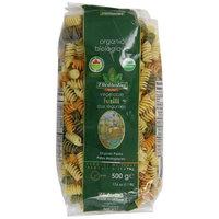 Bioitalia Tricolor Vegetable Pasta, Fusilli, 17.6 Ounce (Pack of 12)