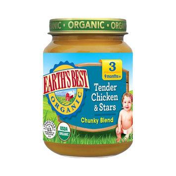 Earths Best Earth's Best Baby Food Jar - Tender Chicken & Stars 6oz (12 Pack)