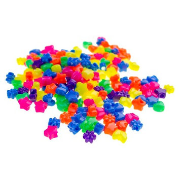 Gimme Clips Squeezy Beads - 168 Count (Assorted Colors)