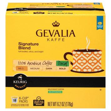Gevalia Kaffe Signature Blend Decaf Mild-Medium Roast Coffee K-Cups 18 ct