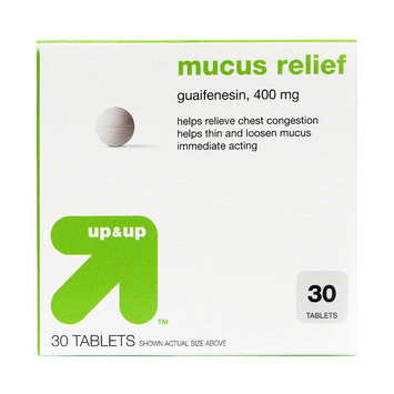 up & up Mucus Relief Chest Congestion Tablet - 30 Count