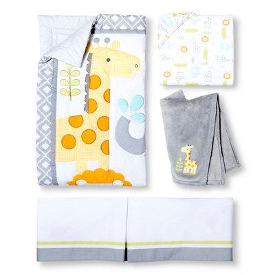 Snooz 'n Safari 4pc Crib Bedding Set by Circo