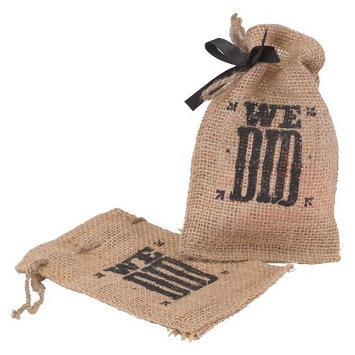 Hortense B. Hewitt We Did Burlap Favour Bags