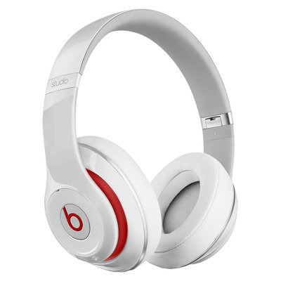 Beats By Dre - Studio 2.0 Wireless Over-Ear Headphone (White) - Electronics