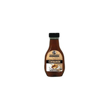 Wholesome Sweeteners Organic Cinnamon Flavored Blue Agave Syrup, 11.75 Ounce -- 6 per case.