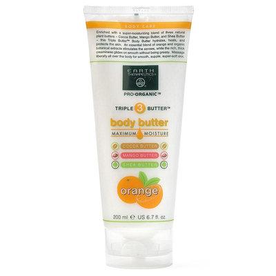 Earth Therapeutics Pro-Organic Triple Butter Orange Body Butter