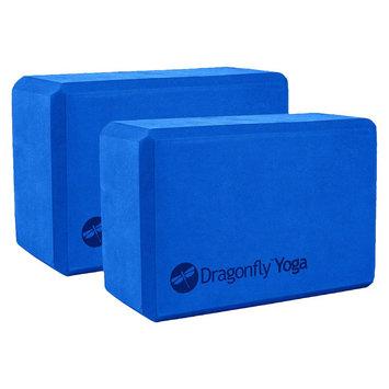 Dragonfly Foam Yoga Block - Blue ( 4