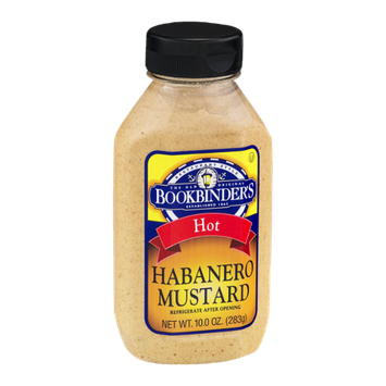 Bookbinder's Habanero Mustard Hot