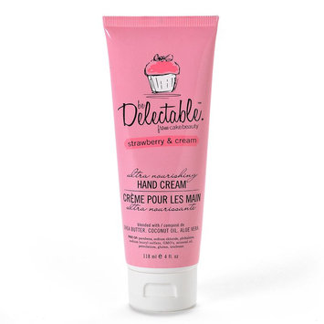 be Delectable from Cake Beauty Strawberry & Cream Hand Cream (White)